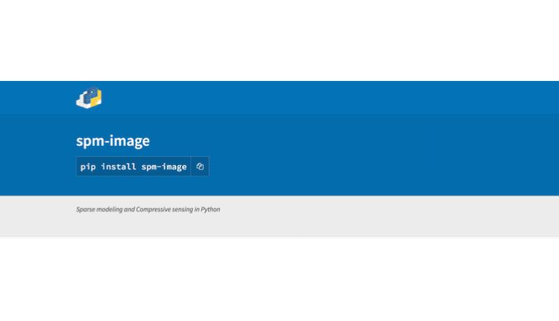 スパースモデリング用ライブラリ Spm-image を公開しました