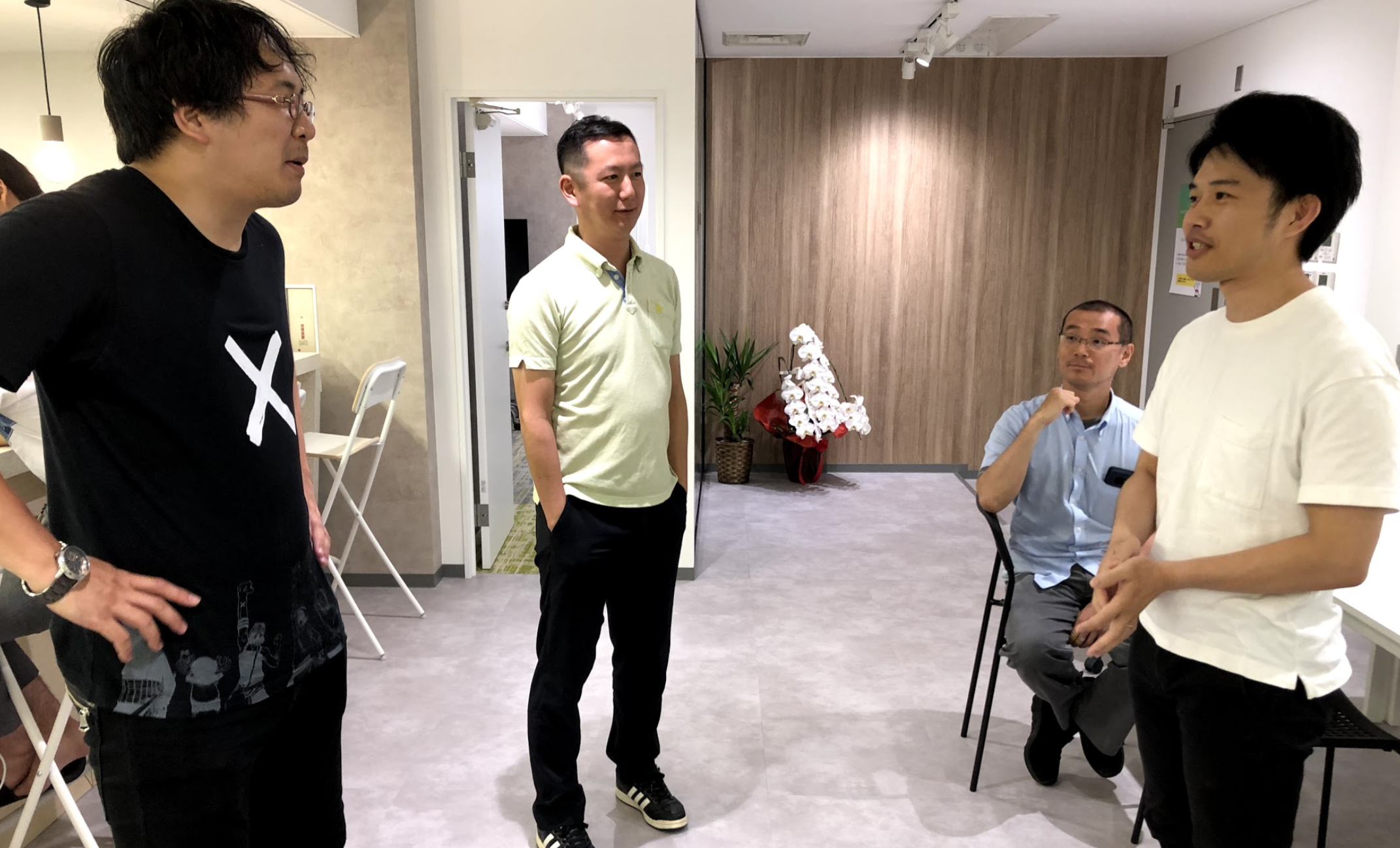Our Science Advisors Professor Visited Hacarus Office