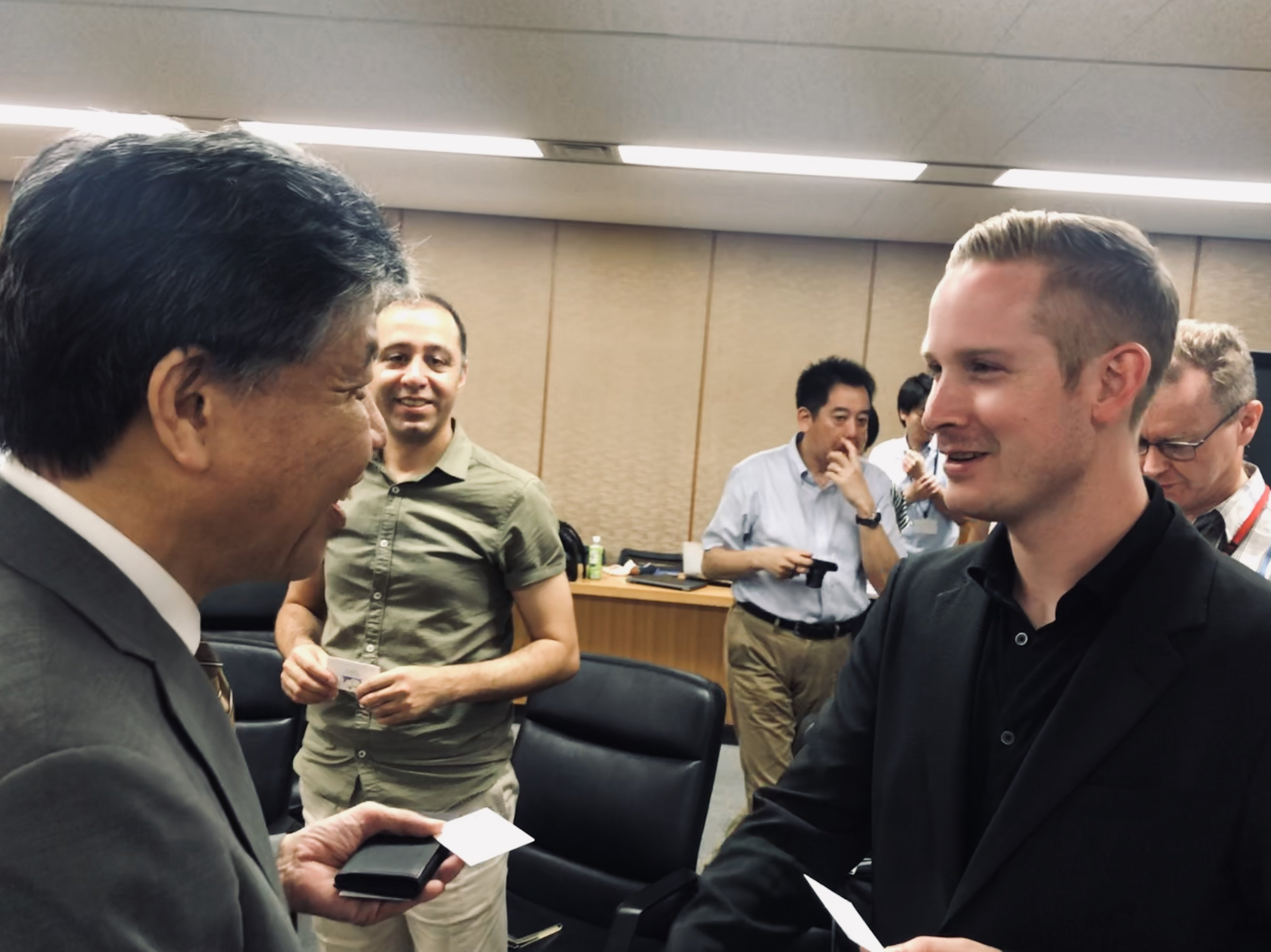 A Big Thank You To Kyoto Prefecture Vice-Governor Akimasa Yamashita For An Interesting Conversation About Start-up Support In Kyoto And How Novel Uses Of Cutting Edge AI Will Keep Kyoto's DNA Of Innovation Going.