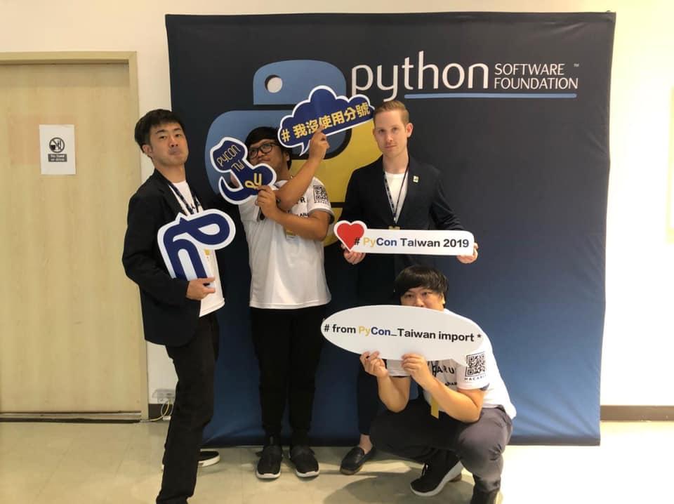 Team Hacarus At PyCon Taiwan !!