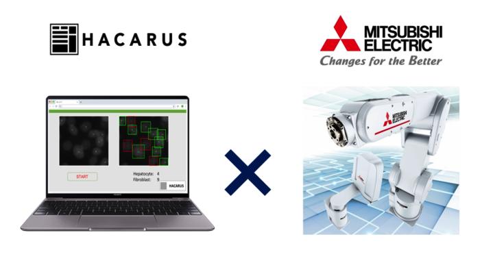 HACARUS And Mitsubishi Electric Unveil AI + Robotics Collaboration