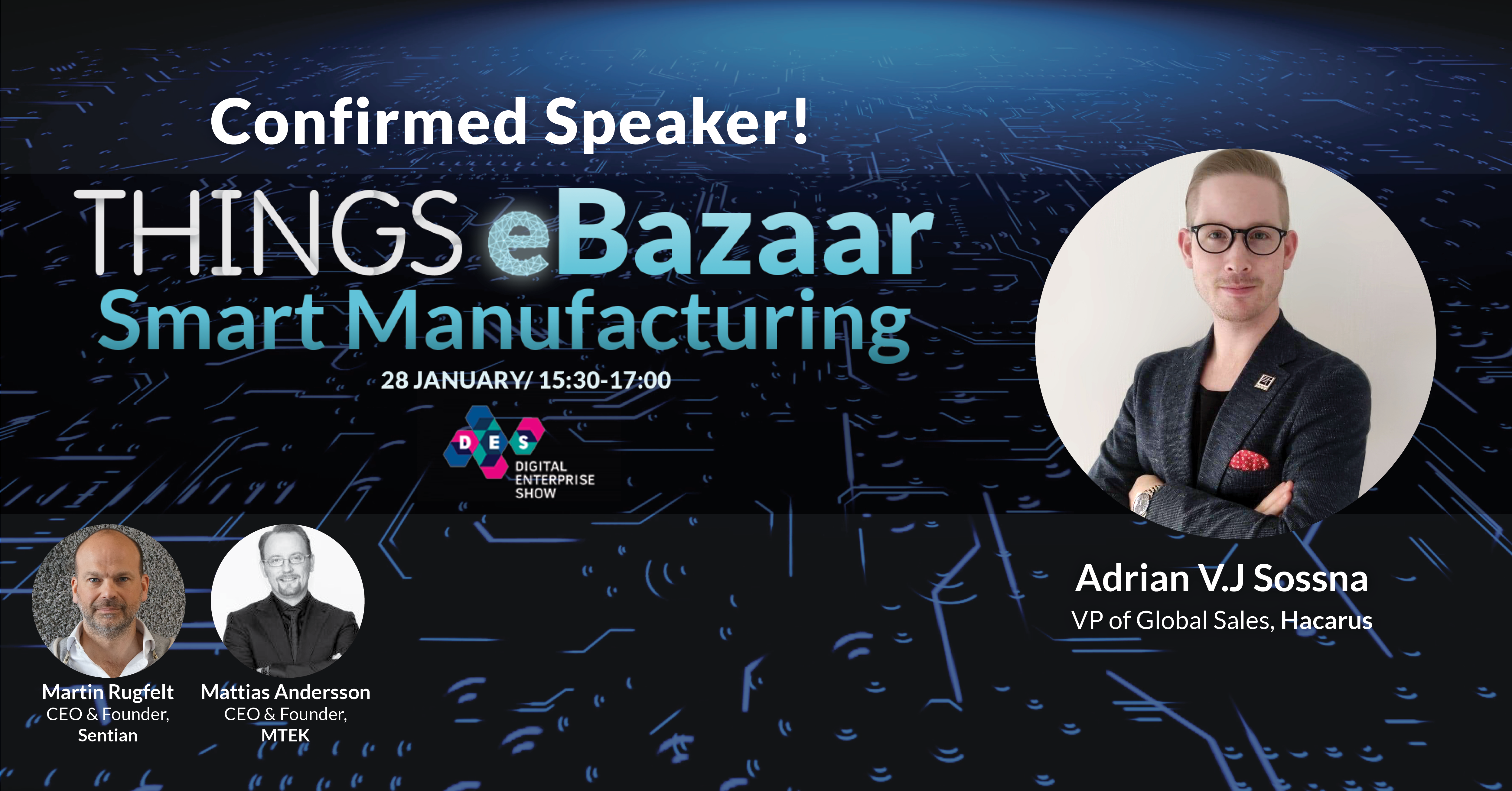HACARUS Will Appear At THINGS EBazaar™ Smart Manufacturing Event