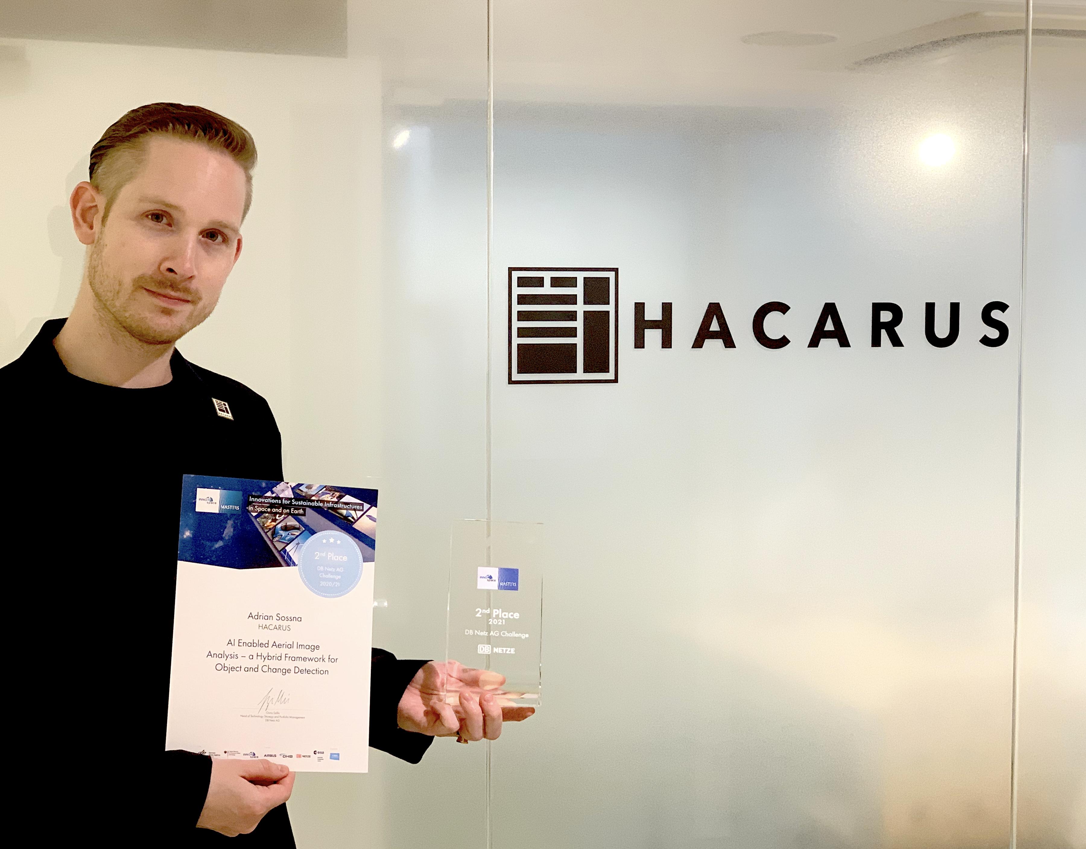 HACARUSの衛星画像分析AIが INNOspace Masters コンテストにて受賞